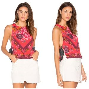 Free People This Sweet Love Top in Pink Size Large